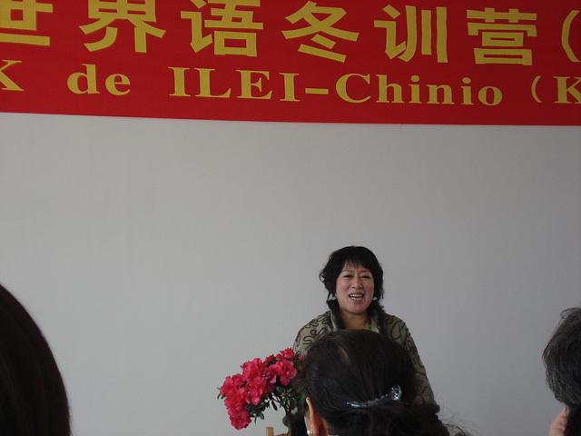 Eruda Li, prezidantino de Hongkonga E-Asocio