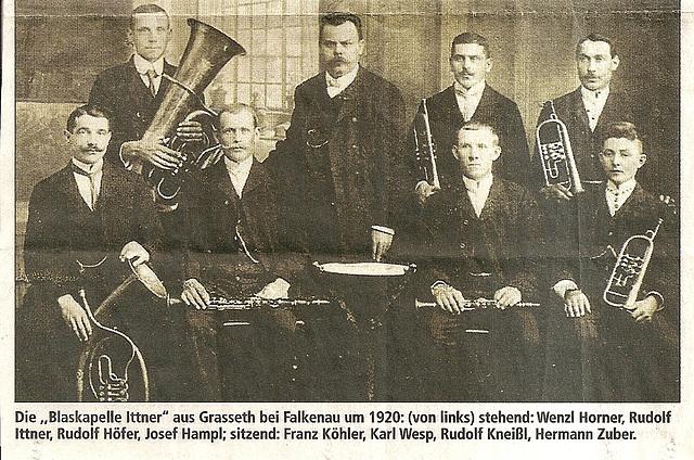 Blaskapelle Ittner - ca. 1920
