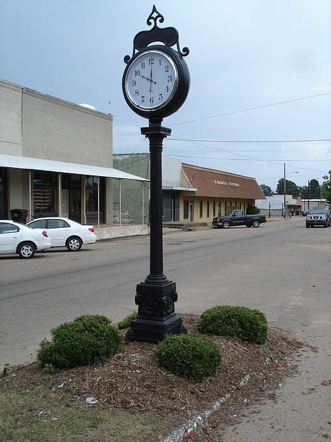 Vardaman. Mississippi. USA - 9 juillet 2010.