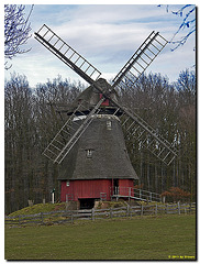 Kappenwindmühle aus Cantrup