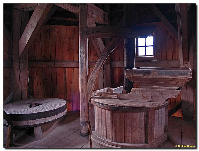 Kappenwindmühle aus Cantrup, innen