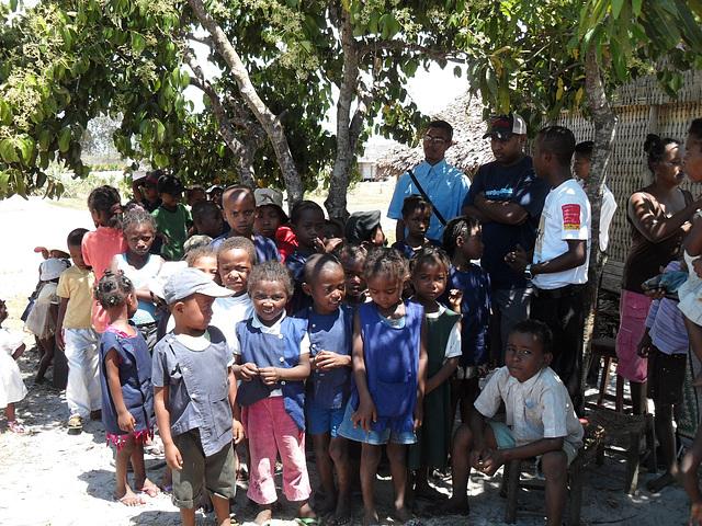 Schulprojekt in Ambalamanasy Schüler