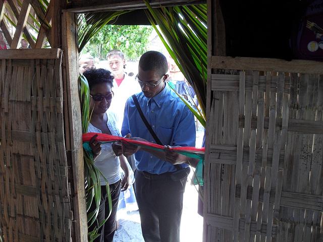 Schulprojekt in Ambalamanasy