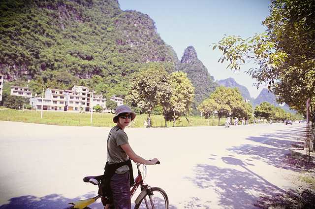 Yangshuo on bike