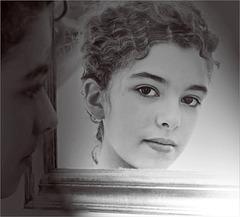 Emma au miroir