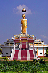 Buddha statue near Mueang Boran