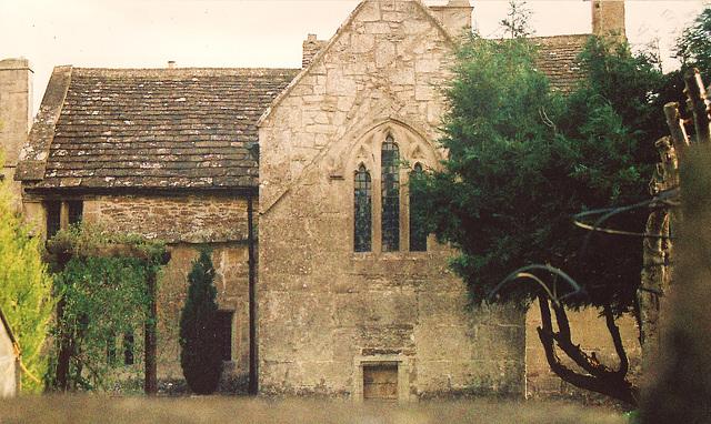 box, chapel plaster c15