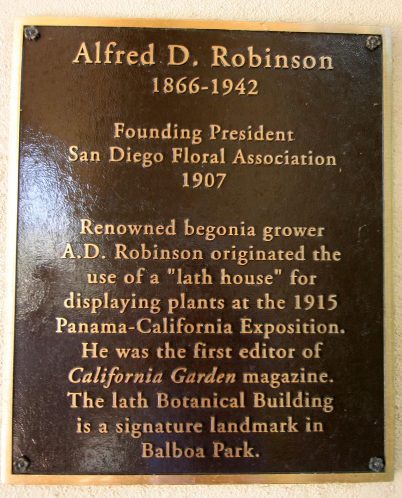 Balboa Park Botanical Pavilion (8135)