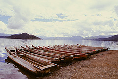 Boats of Luguhu