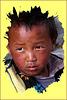 Jeune visage du Népal