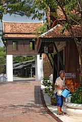 A Thai village rebuilt in Mueang Boran