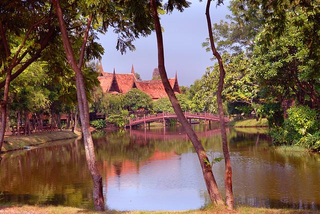 Khun Phaen House in the park of Mueang Boran