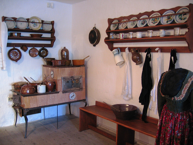 Proseč - etnografia ekspozicio en la muzeo