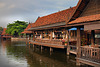 Souvenir shop at the Floating Market ตลาดน้ำ