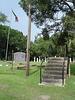 Old Aberdeen cemetery / Mississippi. USA - 9 juillet 2010.