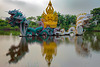 Bodhisattva Avalokitesvara (Kuan-Yin) Performing a Miracle  พระโพธิสัตว์อวโลกิเตศวร ปางแสดงปาฏิหาริย์