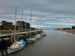 Marina in Burnie
