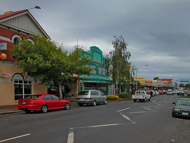 Burnie in northern Tasmania