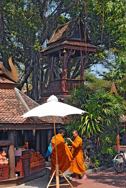 Drum tower in Ancient Siam หอระฆัง