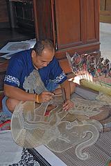 Making the Nang Yai หนังใหญ่