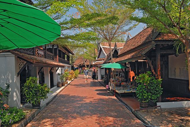 The Old Market Town ตลาดโบราณ