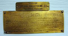 California No Ice Refrigerator (8354)