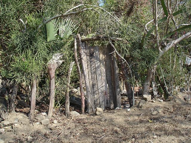 Sur le chemin entre Zipolite et Puerto Angel, Oaxaca. Mexique / 17 janvier 2011.
