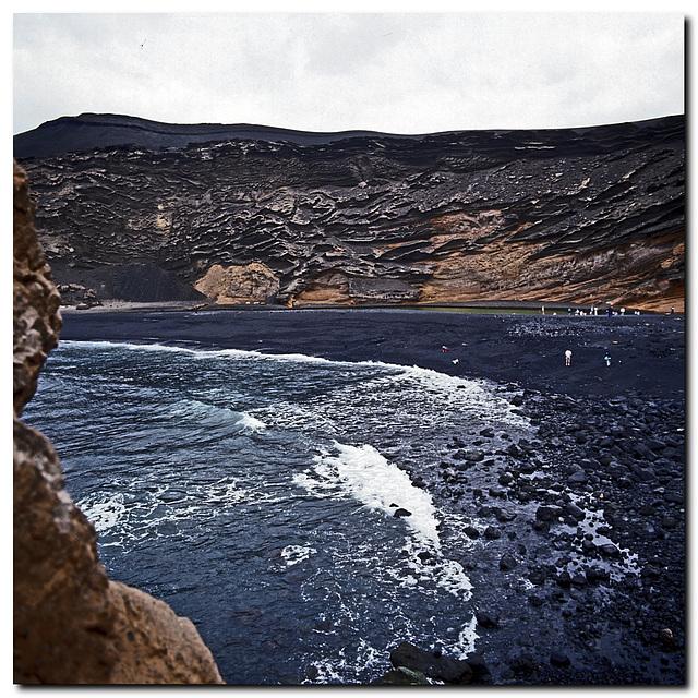 Krater bei El Golfo