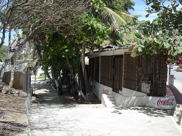 Puerto Escondido, Oaxaca. Mexique / 1er février 2011.