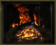 Quoi de plus attractif qu'un bon feu de bois dans une cheminée?