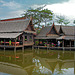 The restaurant at the Floating Market ตลาดน้ำ