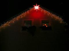 Lichter am Haus -