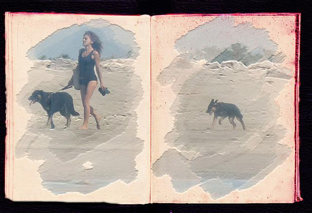 femme aux chiens