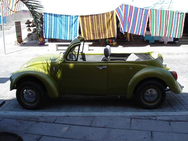 Chapeau à la p'tite VW décapo !