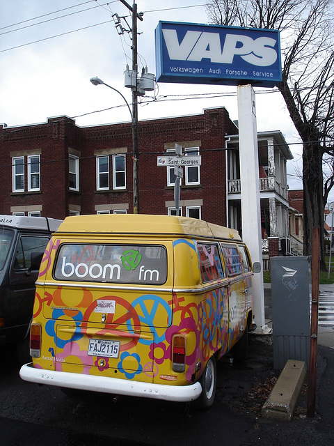 Volkswagen Boom FM / St-Jean sur Richelieu, Québec. CANADA / 17 novembre 2010