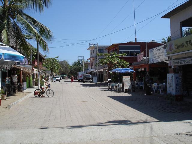 Zipolite, Oaxaca. Mexique / 18 janvier 2011.