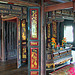 Inside a Thai house in Mueang Boran