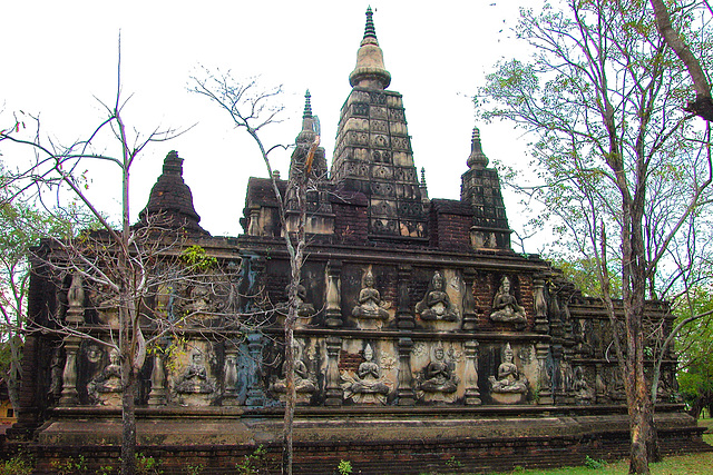 Chedi Chet Yod (The Seven-Spired Pagoda), Chiang Mai
