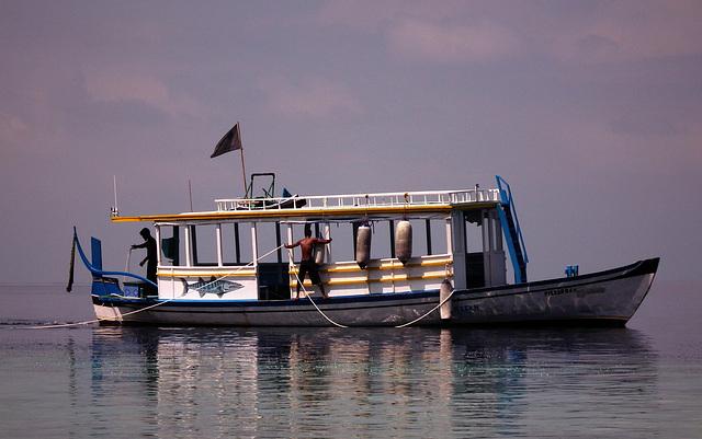 Pêcheurs maldiviens