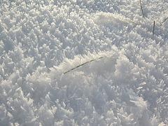 Schnee in Dänemark...