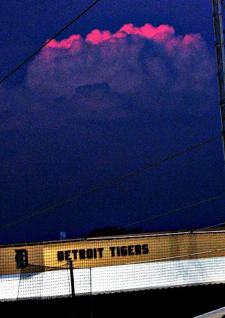 Dusk Sky at Joker Marchant Stadium