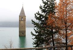 Die Kirche im Reschen(stau)see