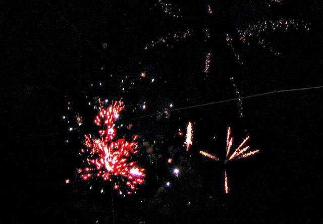 Fireworks at Joker Marchant Stadium