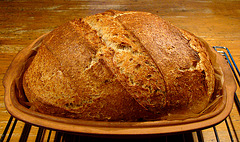 Brown Oatmeal Bread (2)