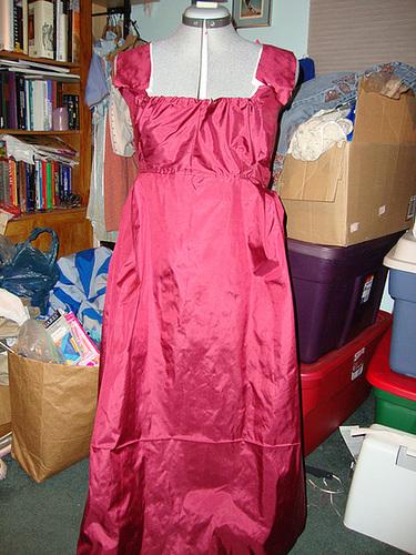 Regency Gown 011