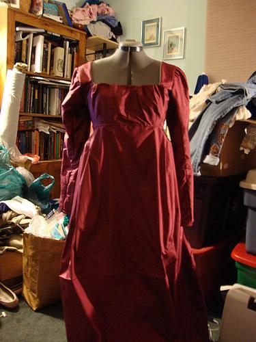 Regency Dress 025