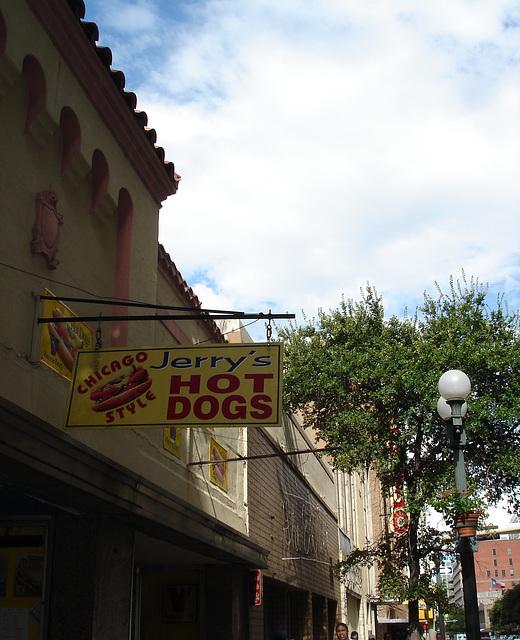 Jerry's hot-dogs / San Antonio, Texas. USA - 29 juin 2010