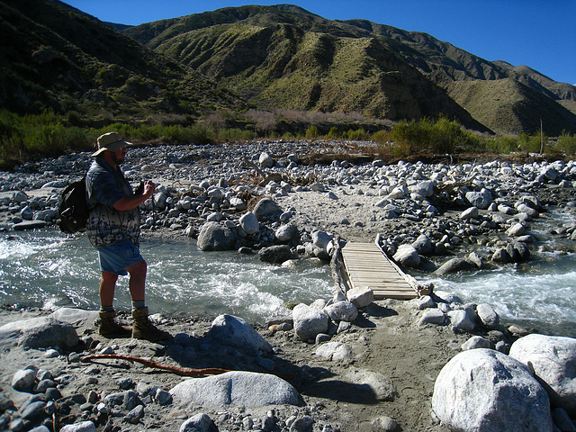 Russ Augustine at Whitewater River (6298)
