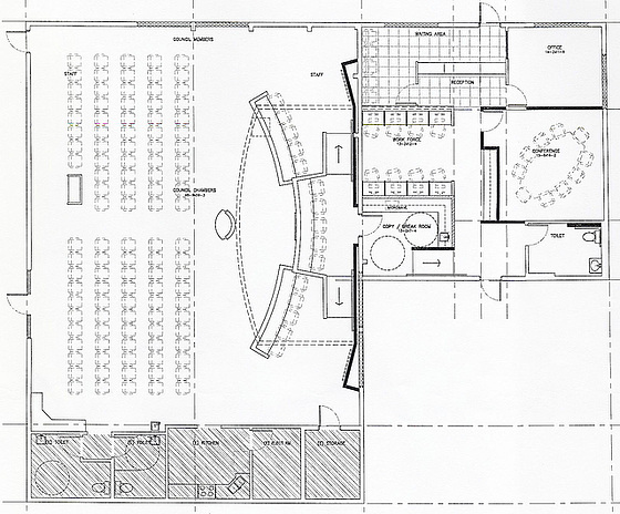 Carl May Proposed Floor Plan - center