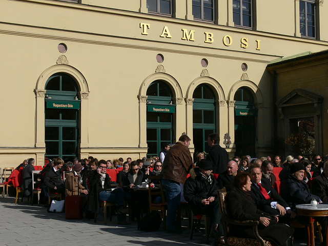 München - Café Tambosi